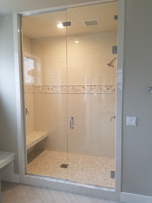 Tacoma Shower Glass